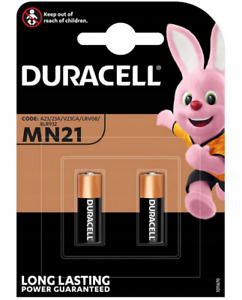 Duracell MN21 A23 12V Security Alkaline Battery 23A LRV08 Expiry 2024. 065
