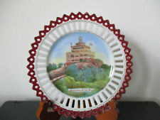 Circa 1910 Souvenir Porcelain Dish Mt Tom Summit House Holyoke Massachusetts *