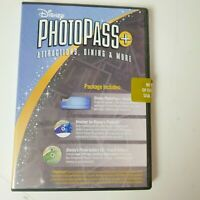 Walt Disney Photo Pass CD Souvenir Pictures Family Keepsake Theme Park World
