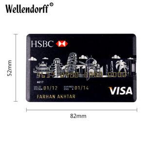 HSBC Bank Credit Card 32GB USB 2.0 Flash Drive Memory Stick