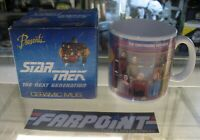 Presents NEW MIB STAR TREK THE NEXT GENERATION TNG Continuing Voyages Mug in Box