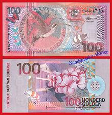 SURINAM SURINAME 100 Gulden 2000 Pick 149 - SC  / UNC