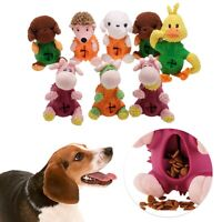 Dog Squeaker Puzzle Slow Feeder Food Leaking Ball Food Dispenser Treat Toys