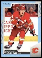 2020-21 UD O-Pee-Chee Blue Border #101 Matthew Tkachuk - Calgary Flames
