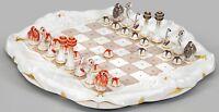47.800,-€ WBW* Schachspiel Seetiere Figuren Jahrhunderkollektion Meissen 05/19