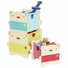 BEAR HUG MDF STACK STORAGE UNITS NEW KIDS FURNITURE WORLDS APART
