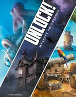 SPACE COWBOYS UNLOCK 2 MYSTERY ADVENTURES GAME - 2 TO 6 PLAYERS