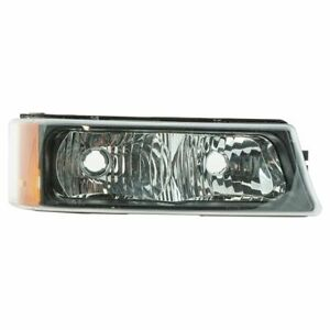 Corner Parking Turn Signal Light Passenger Side Right RH for Silverado Avalanche