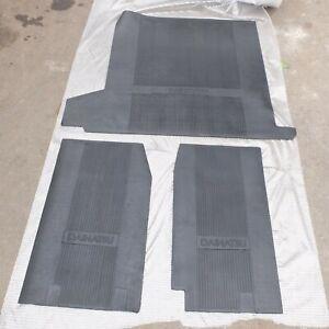 Set Of DAIHATSU TAFT GT F70 F73 F 70 F 73 FLOOR MAT FLOOR CARPET INTERIOR RUBBER