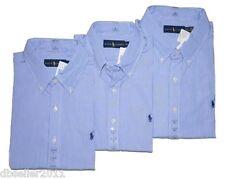 NWT RALPH LAUREN MEN'S LONG SLEEVE CASUAL SHIRT JEANS DRESS SUIT WORK BUSINESS L