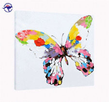 'Graffiti Butterfly' Oil Painting - CLEARANCE SALE - $ 1 Auction Bargain