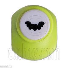 Bat Flying Heart Wings Paper Card Edge Craft Punch Scrapbooking Die Cut Cutter