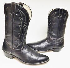 Laredo Cowboy Western Boots Made in the USA 41969 Men's Black Men's 11 EE