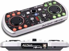 DJ Tech - PoketDJ - DJ Duo USB Powered DJ Software Controller with Integra