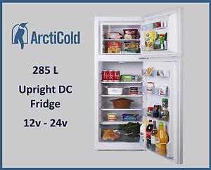 285 Litre 12v 24v DC Upright Freestanding Fridge