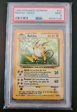 Pokemon German Raichu 14/102 Base Set Mint 1999 Psa 9 WOTC No Shadowless