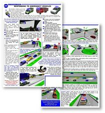 Blue Light Pads - Responding to Emergency Vehicles