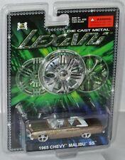 Lexani 1965 Chevy Malibú convertible-oro/Flames-aprox. 1:60 Malibu Int 'l