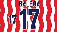 Balboa #17 STATI UNITI MONDIALI 1994 HOME FOOTBALL Nameset per maglia