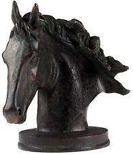 Bronze Effect Horse Head Bust Ornament