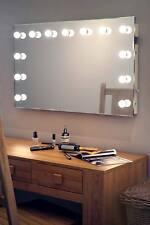 Diamond x Wallmount Hollywood per trucco Specchio con luce DIURNA LED regolabile k91CW
