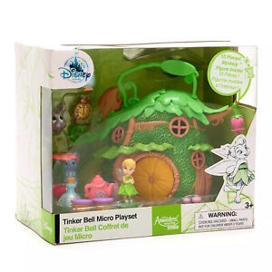 Tinker Bell Micro Playset  Disney Animators' Collection Littles Disney Store