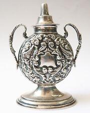 Flacon à parfum en ARGENT massif Birmingham 1903 silver box encensoir