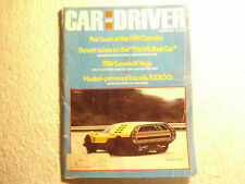 Car and Driver August 1973 Corvette Oldsmobile Mercedes Cosworth Vega Wankel