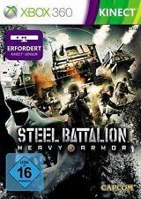 Microsoft XBOX 360 Spiel ***** Steel Battalion Heavy Armor **************NEU*NEW