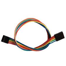 5 Pin Dual-female Jumper Wire--300mm 10pcs pack