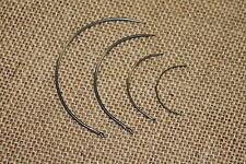 assortiment de 4 carrelets courbe tapissier aiguille chaise fauteuil