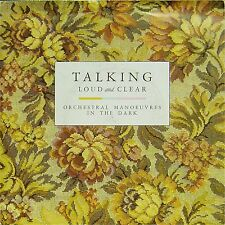 """ORCHESTRAL MANOUVRES IN THE DARK 'TALKING LOUD AND CLEAR' UK PIC/SLV 7"""" SINGLE"""