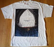 vintage 90s HARLEY DAVIDSON shirt L white Black and Blue Swap belt buckle jeans