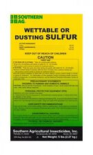 Southern Ag WETTABLE OR DUSTING SULFUR  (5Lbs. Bag)