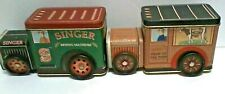 Bristolware Hershey Chocolate Delivery Tin & Singer Sewing Machine Metal Truck