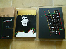 LOU REED signed TRANSFORMER DELUXE GENESIS PUBLICATIONS BOOK Velvet Underground