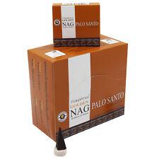 Genuine Golden Nag Palo Santo Incense Cone 12 packs X 10 cone=120 Incense Cones