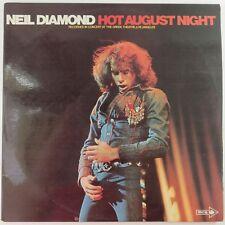 Hot August Night by Neil Diamond, MCA Records 1973 Dbl LP Vinyl Record