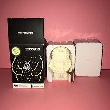 Original White Firefly Treeson GITD Bubi Au Yeung Crazy Label Glow SDCC 500 Pcs