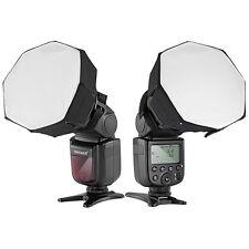 "Neewer Universal 5""x5"" Octagon Softbox Lighting for Canon Nikon Flash Speedlight"