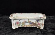 Antique Chinese / Japanese  Multicolored Porcelain Flower Pot, 19th c