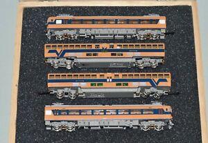 N Scale TOMIX KINKI NIPPON RAILWAY SERIES 30000 4 CAR POWERED VISTA CAR SET