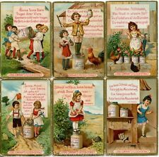 Chromo Liebig Sang. 253 TED Rime Infantili I ANNO 1889