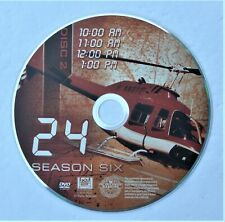 '24' TV show - SEASON 6 - DISC 2 REPLACEMENT DVD DISC ONLY