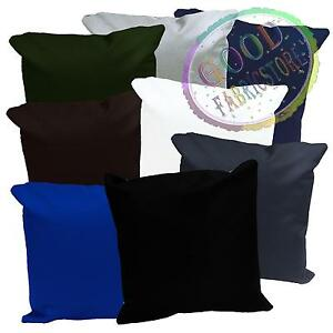 PL Colours Water Proof Canvas PU Outdoor Cushion Cover Pillow Case Custom Size