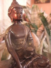 Bronce Antiguo Buda Tai Medicina