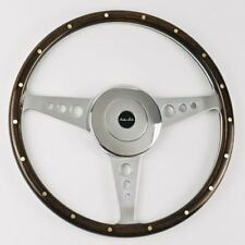 "Moto-Lita Mark 3 Holes 15"" Dark Stain Steering Wheel"