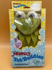 Vintage Kermit the Frog 1988 Tub Buddies Jim Henson's Muppets Puppet Wash Cloth