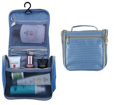 Travel Wash Bag Make Up Toiletry QUICK PACK Holder Organiser ROLL OUT WATERPROOF