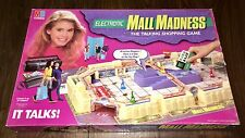 Very Rare Early 90's Electronic Mall Madness 3D Interactive Board Game By MB